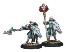 Retribution Houseguard Halberdier Officer & Standard (2)